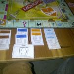monopoly game at Crash Pad
