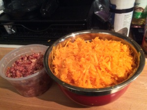 Butternut Slaw with Cranberry Relish